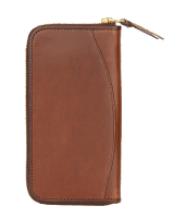 Opus Long Wallet - brown Pony