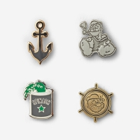 Filson - Popeye Emaile Pin Set