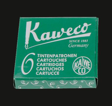 Kaweco Premium Ink Cartridges Palm Green