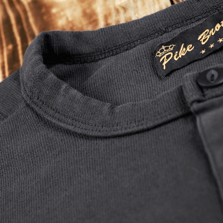Pike Brothers 1954 Utility Shirt Faded Black