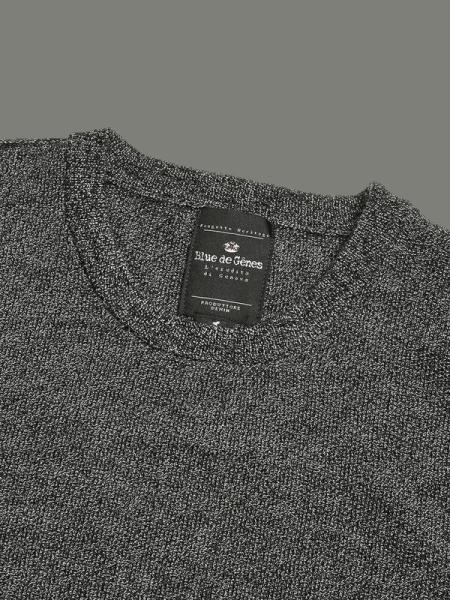 BLUE DE GENES Tondo Melange Knit Grey