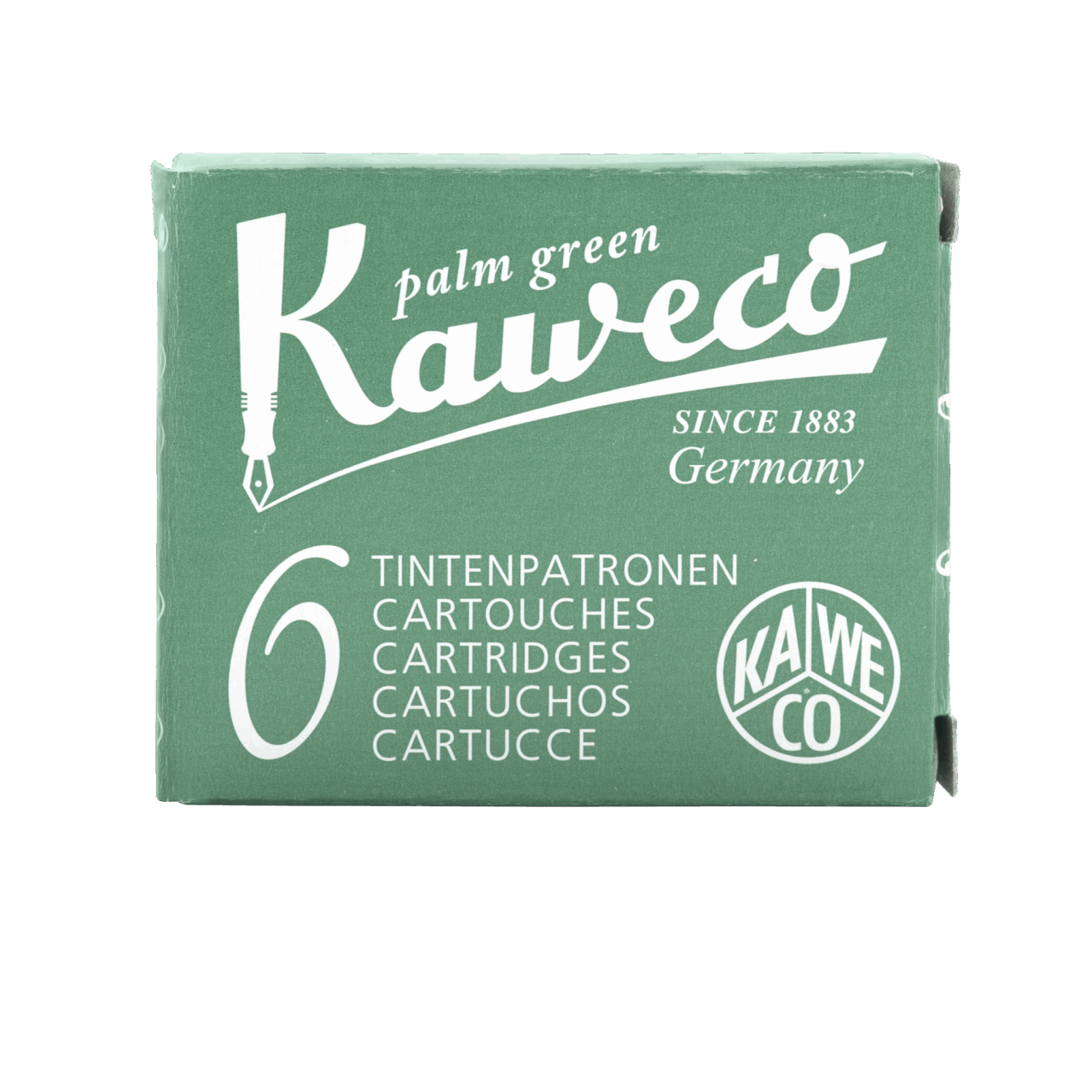 Kaweco Premium Ink Cartridges Palm Green