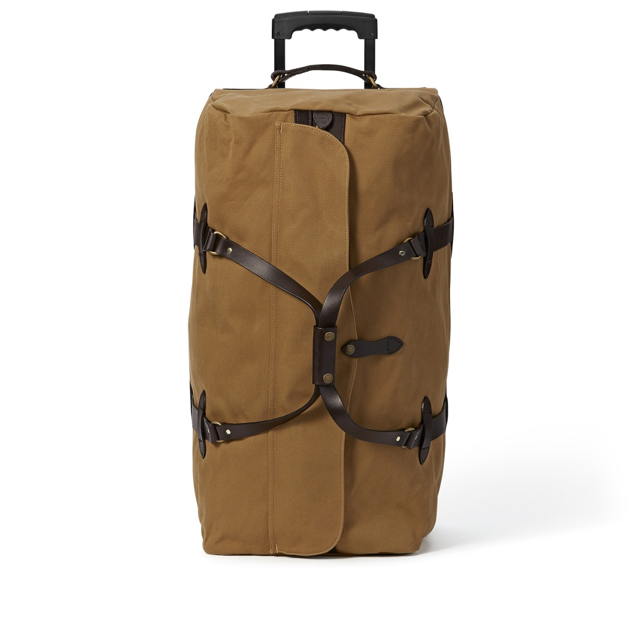 Filson Large Rugged Twill Rolling Duffle Bag - Tan