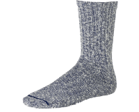 Red Wing Cotton Ragg Sock - blue/white
