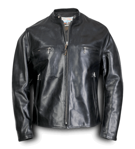 Aero Leather Cafe Racer black