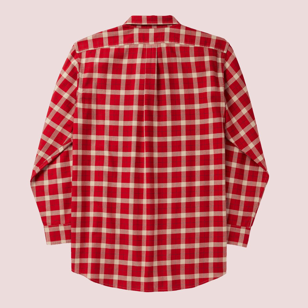 Filson LT Alaskan Guide Shirt red/cream