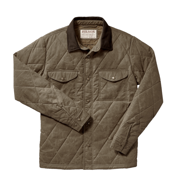 Filson Hyder Quilted Jac-Shirt - tan
