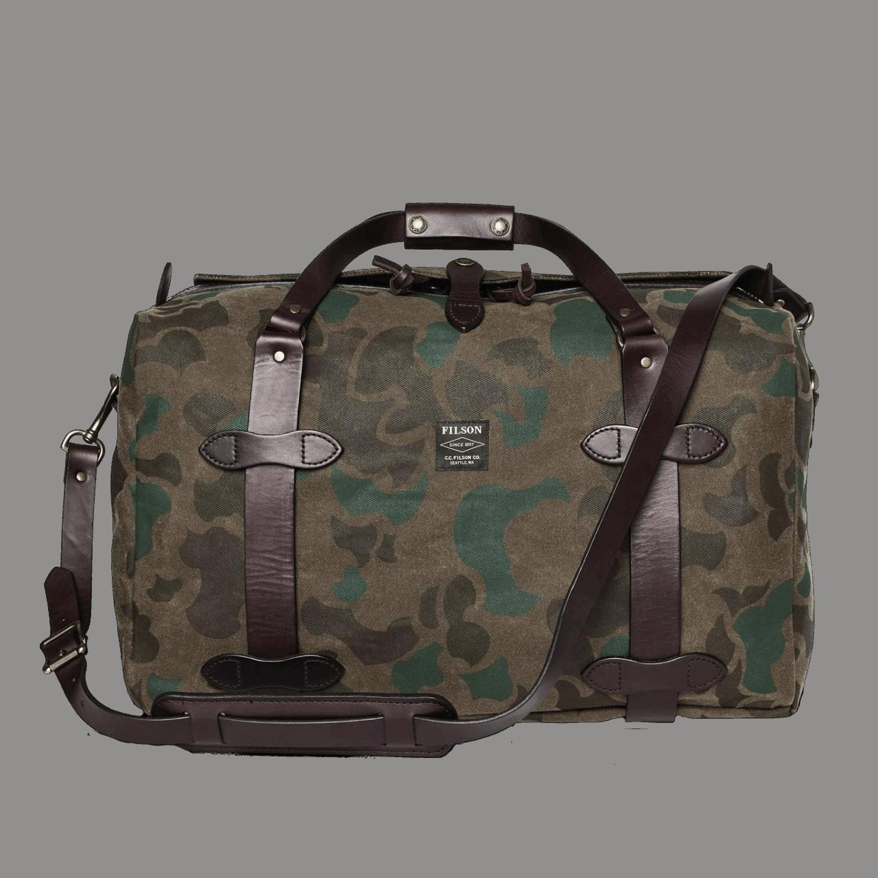 Filson Medium Rugged Twill Duffle Bag - Camo