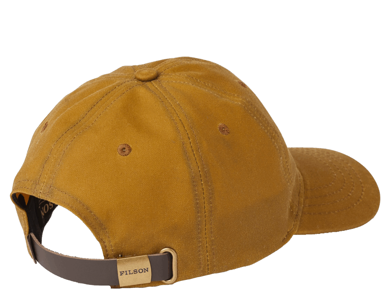 Filson Oil Tin Low Profile Cap - tan