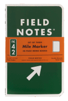 Field Notes Mile Marker 3er Set