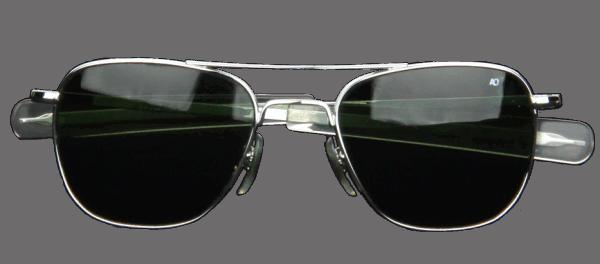 AO Eyewear Original Pilot - silber - grün
