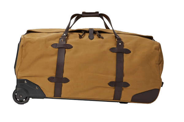 Filson Large Rugged Twill Rolling Duffle Bag - Tan
