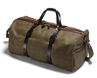Croots Vintage Duffle Bag large. - olive