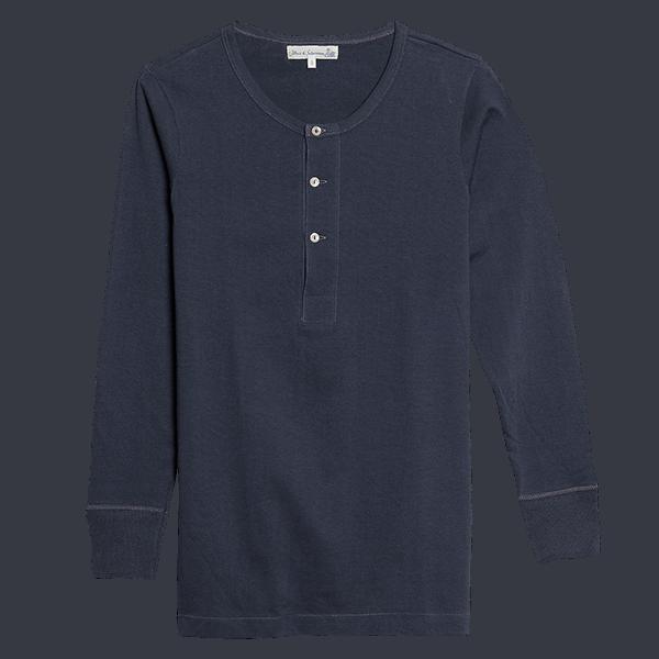 Merz b. Schwanen Shirt 206 - navy