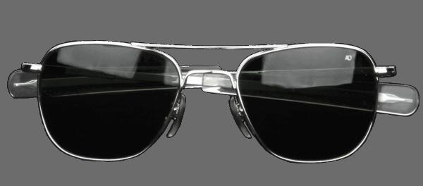 AO Eyewear Original Pilot - silber - grau