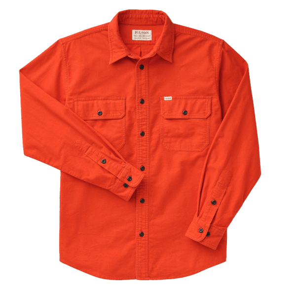 Filson Field Flannel Shirt - Pheasant Red