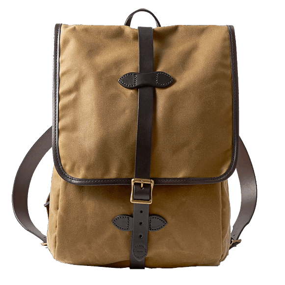 Filson Tin Cloth Backpack - Tan