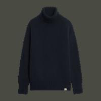Merz b. Schwanen Turtleneck Pullover - deep black