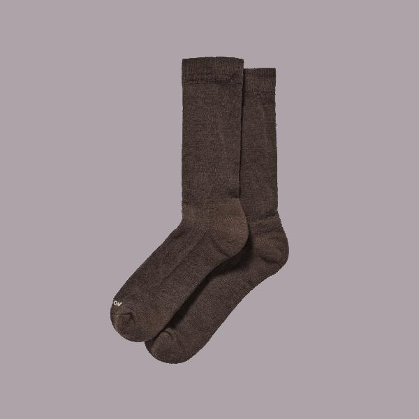 Filson Merino Everyday Crew Sock - brown