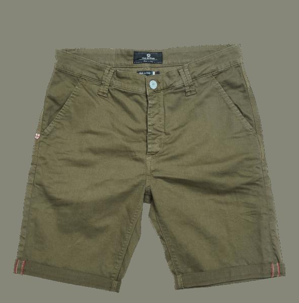 BLUE DE GENES Paulo Pavia N12 Shorts, green piquant