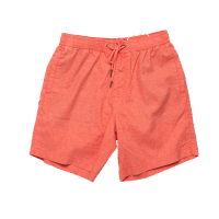 Deus Sandbar Hemp Mesh Shorts - Coral Orange
