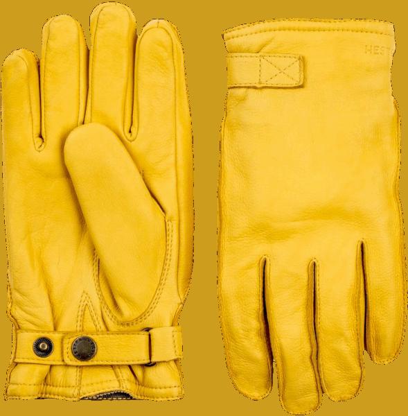 Hestra Deerskin Wool Terry - yellow gold