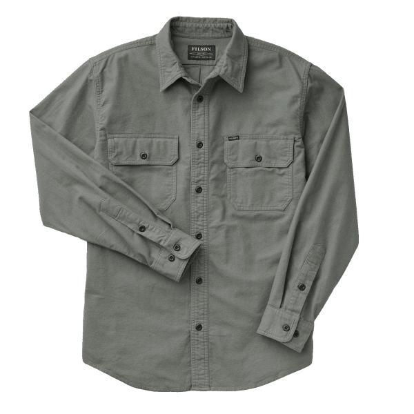 Filson Field Flannel Shirt - balsam green