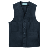 Filson Mackinaw Wool Weste - Navy