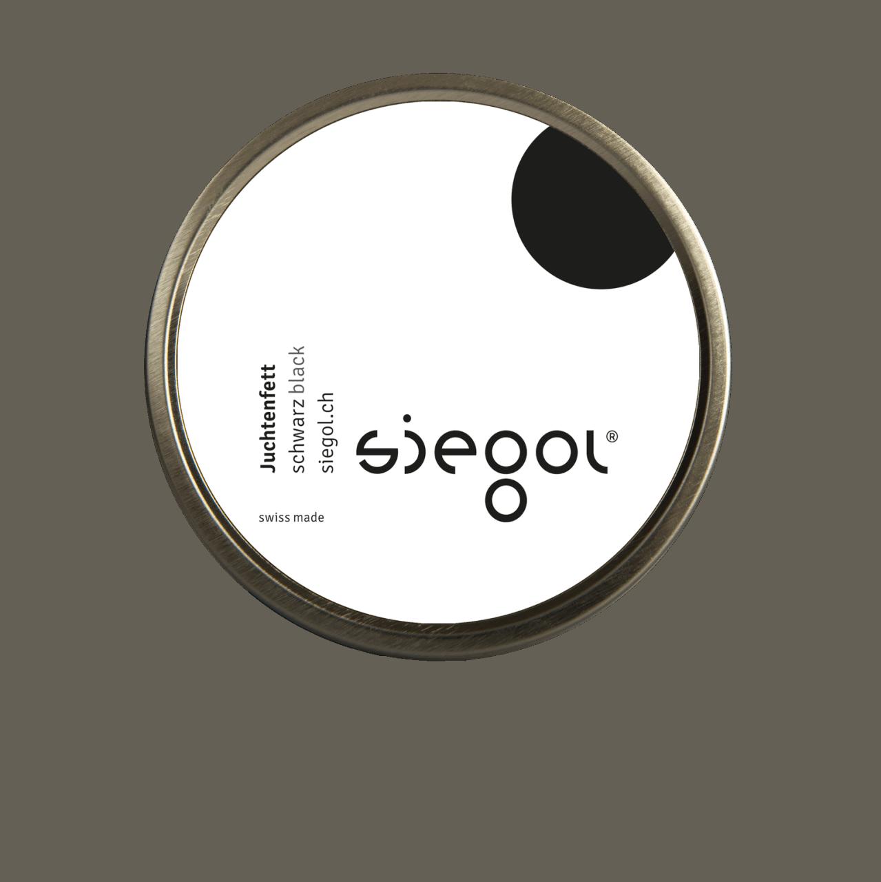 Siegol Juchtenfett-schwarz 150ml