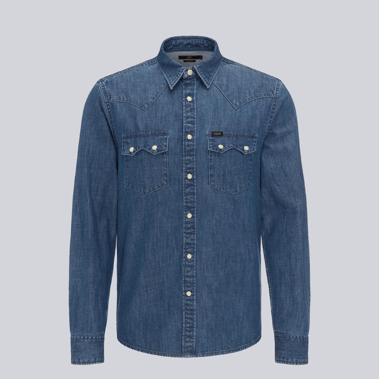 LEE Rider Shirt - Dipped Blue