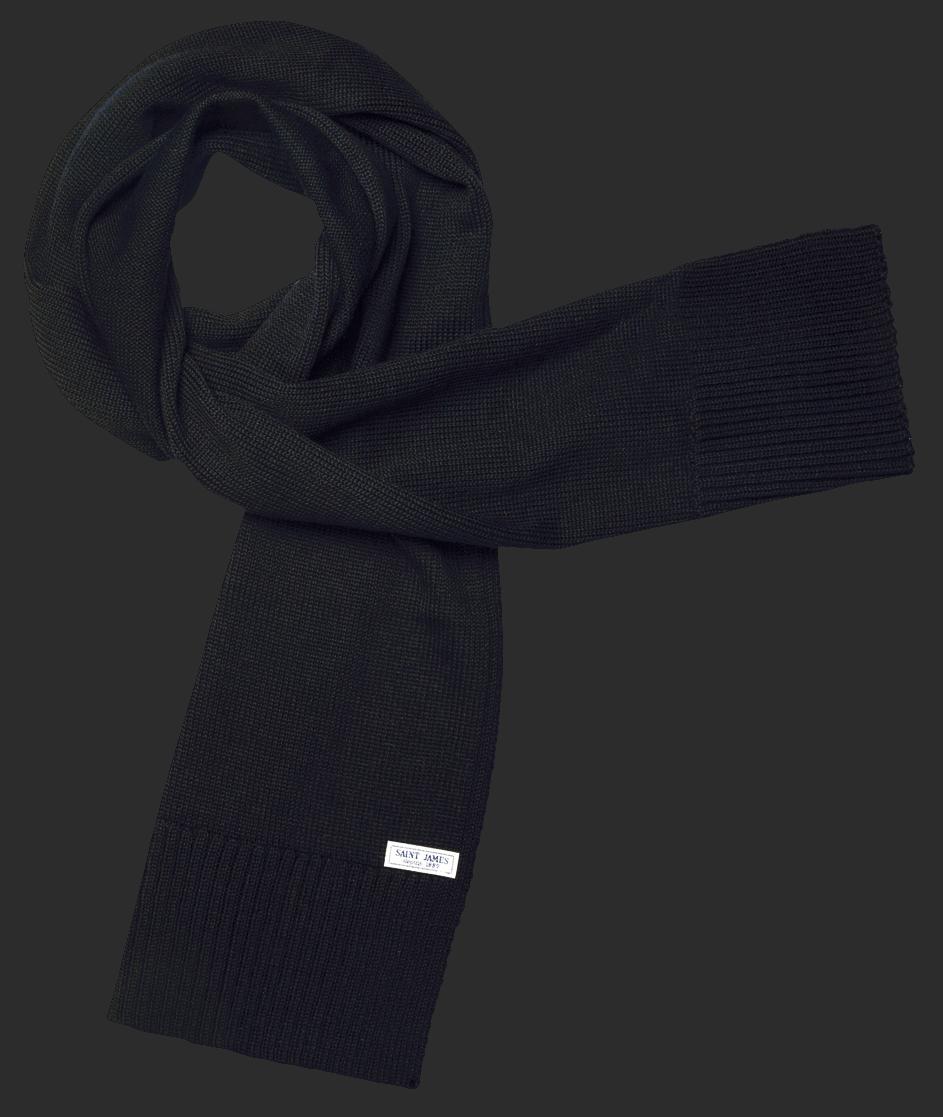 Saint James BARBEROUSSE Schal Noir