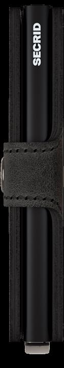 Secrid Miniwallet - Vintage - schwarz