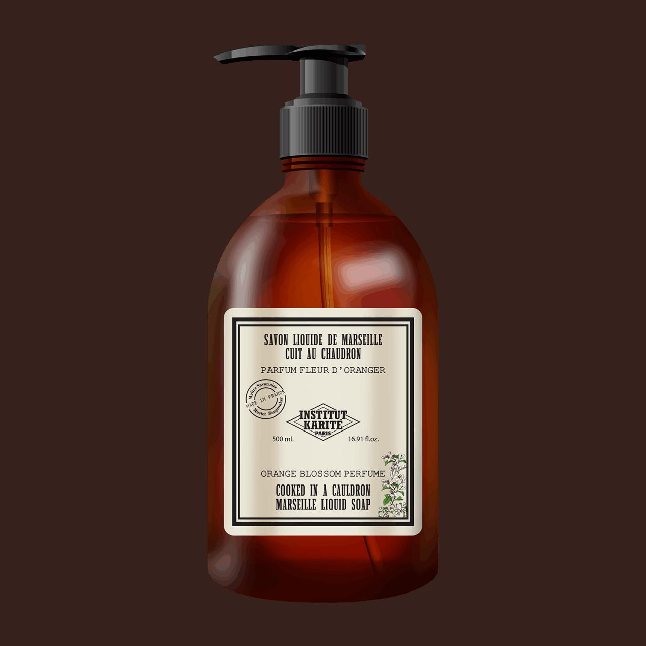 Vintage Marseille Liquid Soap - Orange Blossom 500ml