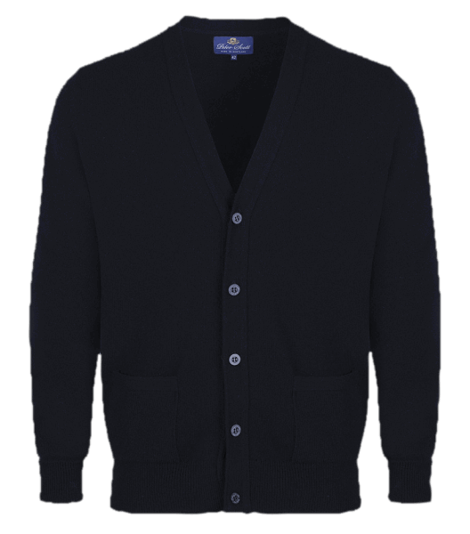 Peter Scott BRAEMAR Cardigan Black