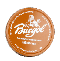 Burgol Palmenwax shoecreme 100ml - lightbrown