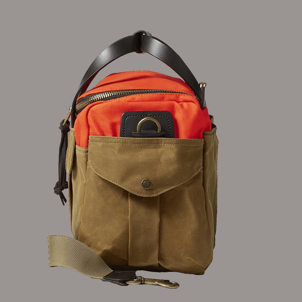 Filson Sportsman´s Bag Heritage Orange / Dark Tan