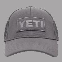 YETI Patch Trucker Hat - grey