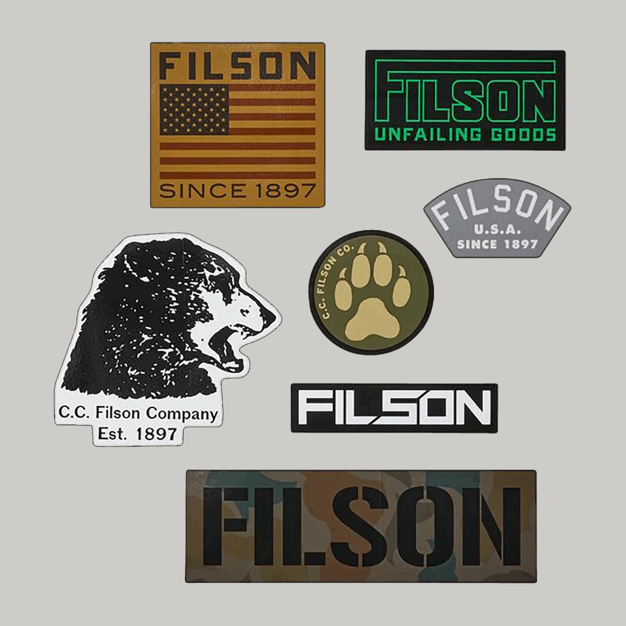 Filson Technical Sticker Pack