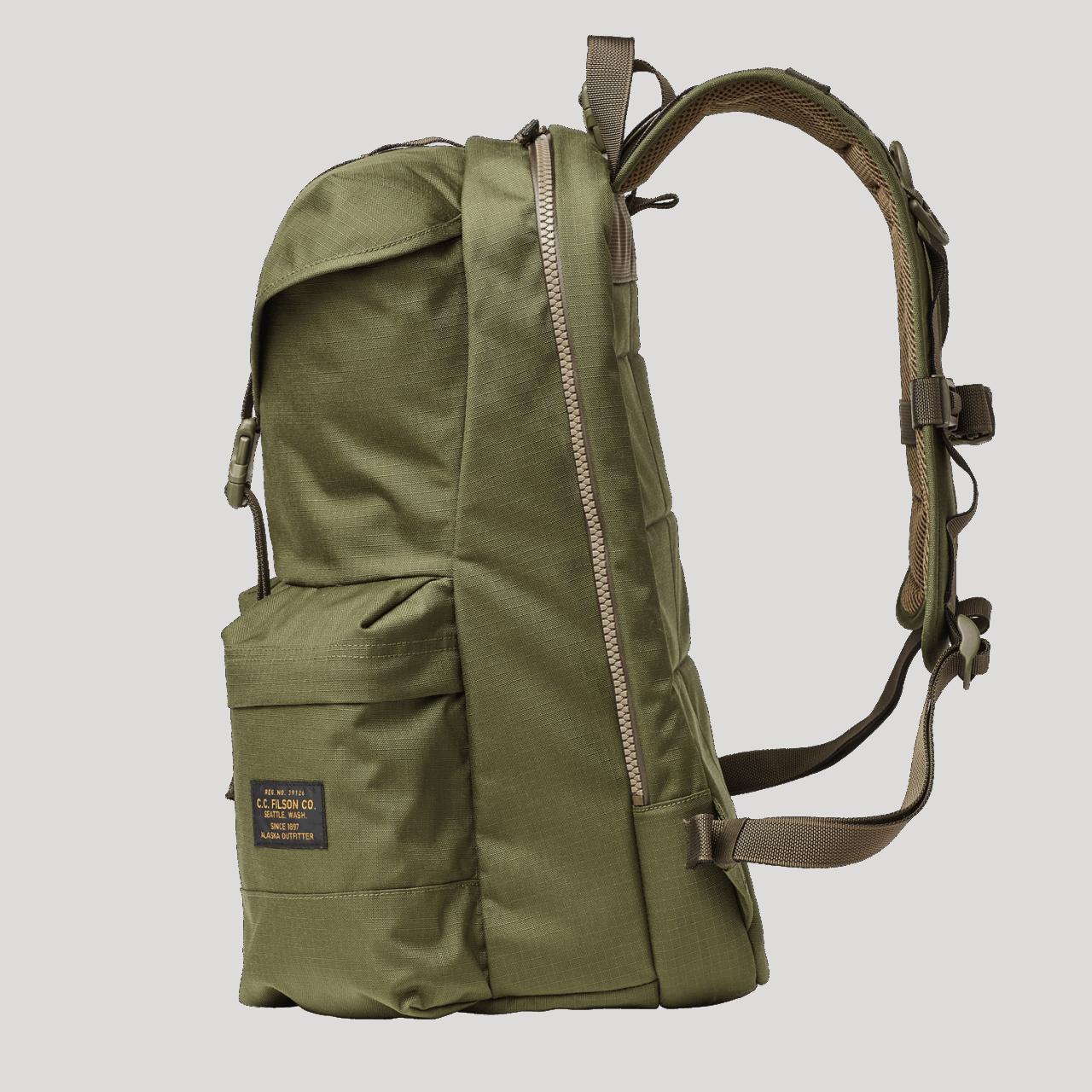 Filson Ripstop Nylon Backpack 32l - surplus green