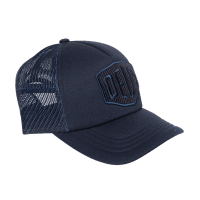 Deus Hayward Shield Trucker - Navy