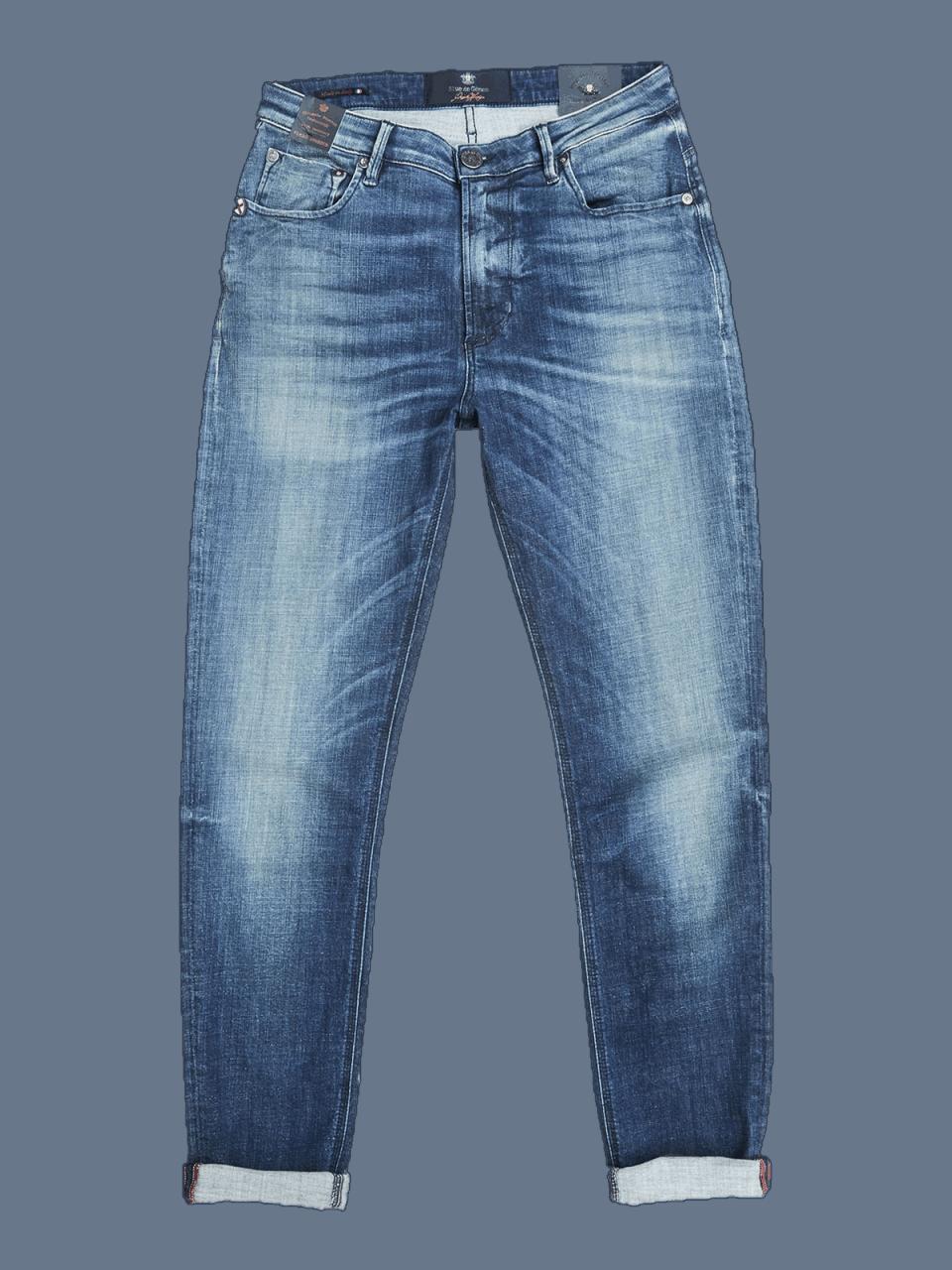 BLUE DE GENES Fredo Fonto Dk Used Jeans