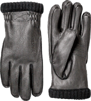 Hestra Deerskin Primaloft Rib - black