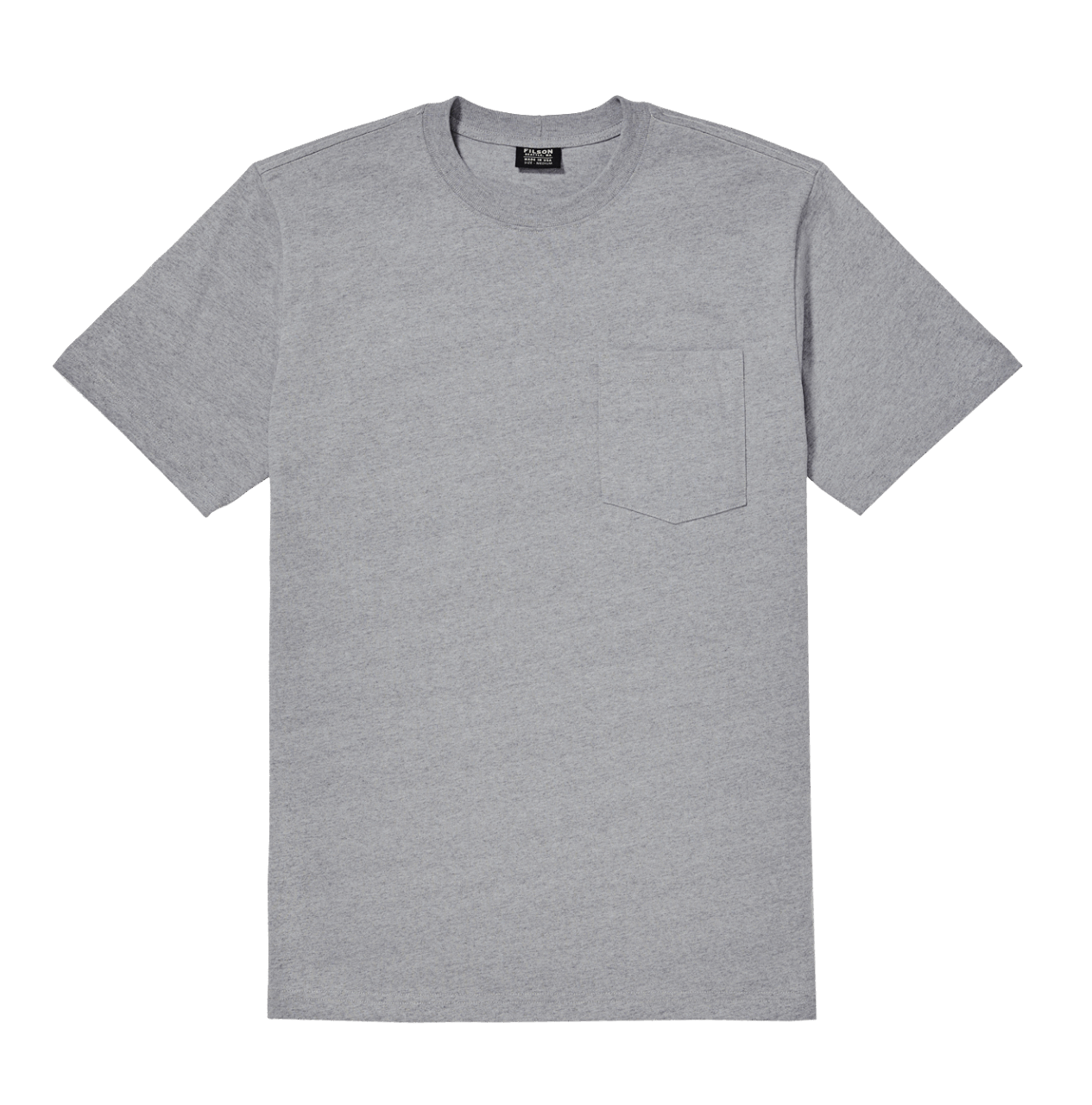 Filson Outfitter Solid One Pocket T-Shirt - grau