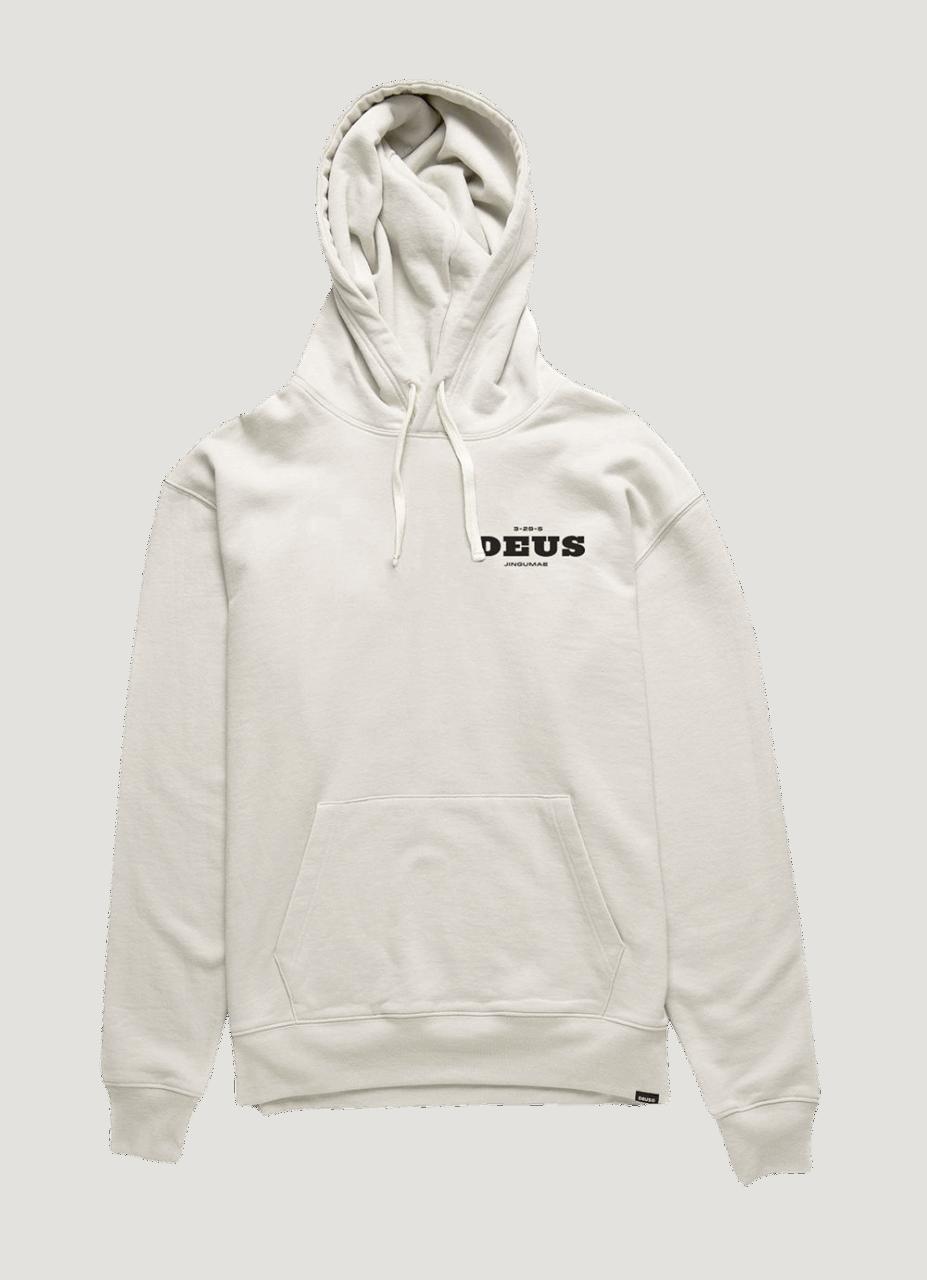 Deus Loco Hoodie - White