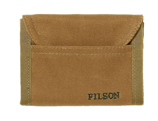 Filson Smokejumper Wallet dark tan