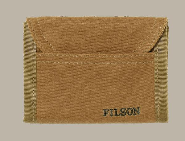 Filson Smokejumper Wallet dark tan