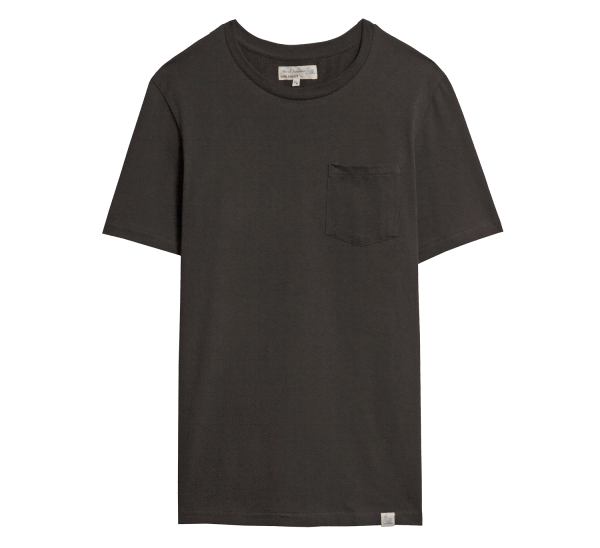 Merz beim Schwanen Basic Pocket T-Shirt - Black
