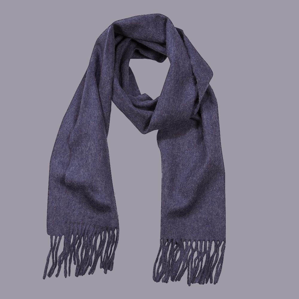 John Hanly Irish Wool Schal - Denim