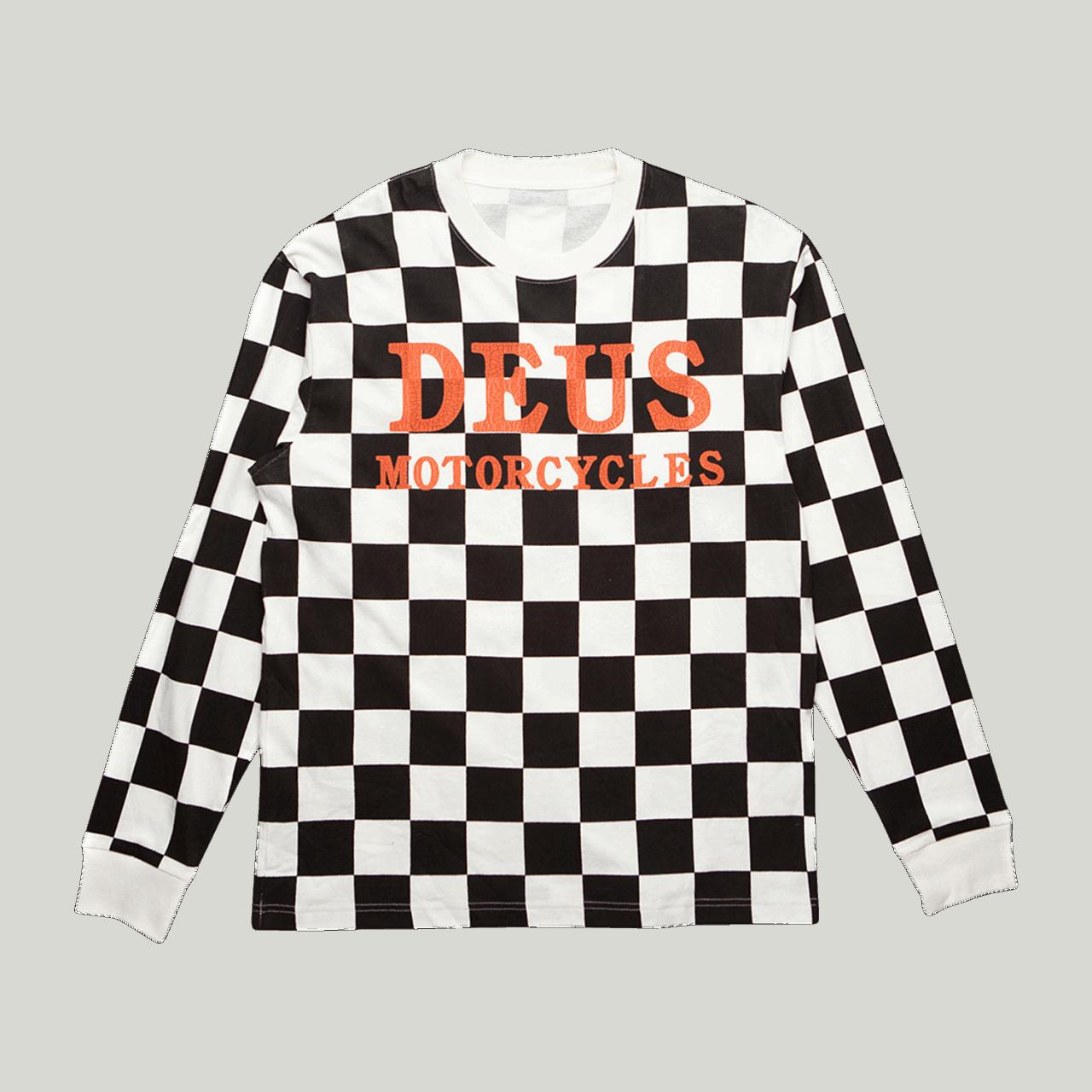 Deus Firecracker Longsleeve - Black / White