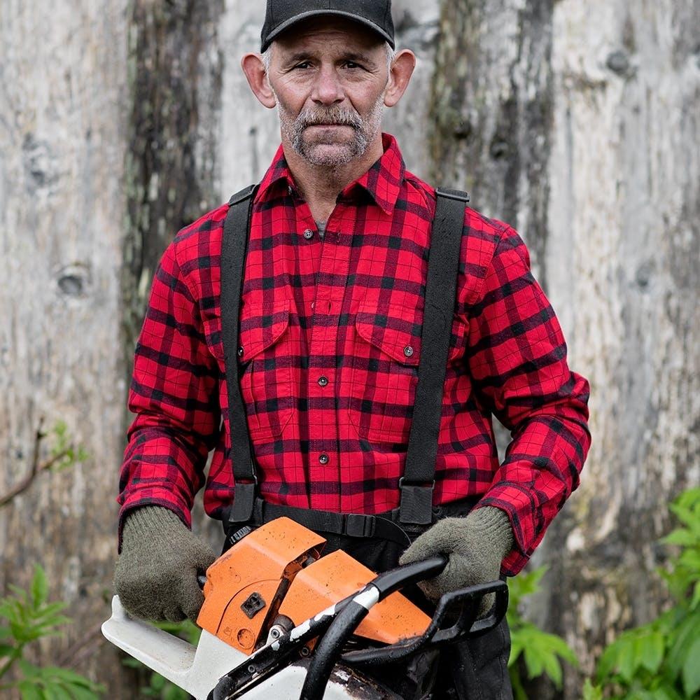 Filson Alaskan Guide Shirt red-black